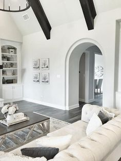 Living room archway to dining room. Living room archway to dining room ideas. Living room archway to dining room floor plan. #Livingroom #archway #diningroom mytexashouse