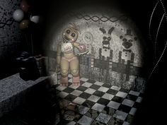 Five Nights At Freddy's 2 Chica In Party Room