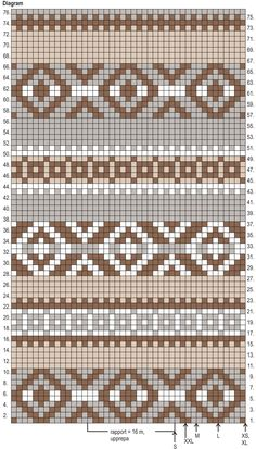 Nordic Yarns and Design since 1928 Maori Patterns, Mosaic Patterns, Loom Patterns, Cross Stitch Patterns, Knitting Charts, Knitting Stitches, Knitting Patterns, Crochet Patterns, Crochet Diagram