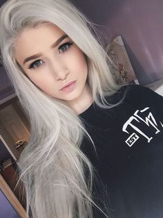 Fantasy Silver White Hair Color For Teens,Wigs and Weaves!