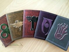Fan-made Conjuration, Destruction, Alteration, Restoration, Illusion book inspired personalized journal notebook