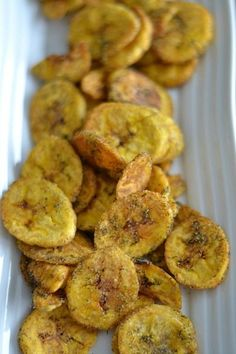 AIP Dill Pickle Plantain Chips - OMG these are my favorite things to eat. Do not store in a closed plastic bag, though - they get soggy. Paleo Recipes, Real Food Recipes, Paleo Meals, Paleo Breakfast, Healthy Snacks, Healthy Eating, Savory Snacks, Healthy Kids, Favorite Recipes