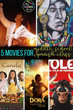 lista lunes: 5 Appropriate movies for Spanish class - Mis Clases Locas