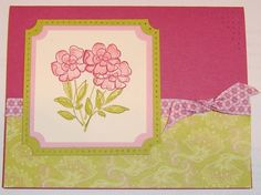 3 Botanical Blooms Bouquet by m&m'sgrandma - Cards and Paper Crafts at Splitcoaststampers