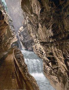 Ragatz, Gorge of the Tamina, St. Gall, Switzerland