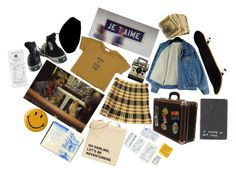 """""""Lost in a Foreign City// Paris"""" by aart-hoe ❤ liked on Polyvore featuring Chanel, Betmar and Converse"""