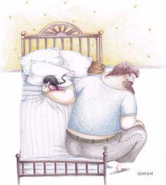 Amor de pai e filha - ilustrações para você se apaixonar | Macetes de Mãe