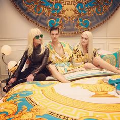 Versace Home 2015 La Coupe Des Dieux Collection Donatella Versace