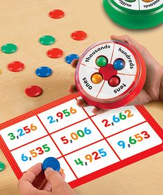 Speed Place Value Game Set