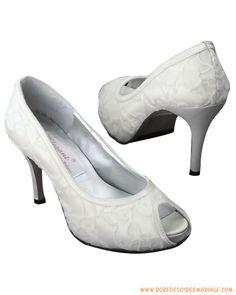 Chaussuresdemariéeivoirede3.5pouces