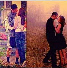 One tree hill oth naley Nathan Scott Haley James Scott first kiss in the rain last kiss in the rain 1 season 9 season