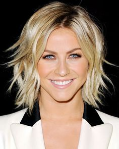 Julianne Hough's Piecey Bob - Fall's Hottest Hairstyles - Fall Hair Trends 2013 - Hair - InStyle
