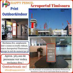 Contactează-ne! Faceți afacerea dvs. mai vizibilă! Adresați-vă la peste 4.000 mii de persoane/zi! office@happy-pencil.ro #print #printdigital #printoutdoor #printindoor #aeroport #reclama #anunt #afacere #succes #vizibilitate #horeca #antreprenor #manager #marketing #oameni #trafic #miideoameni #notorietate #profit #vanzari Indoor Outdoor, Marketing, Business, Cots, Italy, Store