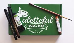 Each month, you will receive a selection of art supplies. You'll get to try a wide range of products, from pens to paint. You will receive everything you need to create a work of art. The supplies in the box are ideal for beginners, professionals, or anyone in between.  $34.95