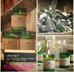 Our favorite candles are back in stock.  Rewind began in 2009 in Charleston SC by Adam Fetsch.  He was tired of seeing wine bottles tossed away while working in a restaurant.  Adam decided to turn the bottles into candles with scents that mimic wine flavors and gave them to friends and family.  Due to their popularity he soon recruited friends and started selling them at Market hoping to make $75 a day.   Then the stores came calling and the rest is history. #RewindCandles #Recycle…