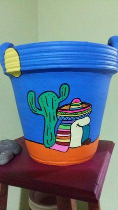 Flower Pot Art, Flower Pot Design, Flower Pot Crafts, Clay Pot Crafts, Paint Garden Pots, Painted Plant Pots, Painted Flower Pots, Ceramic Pots, Terracotta Pots