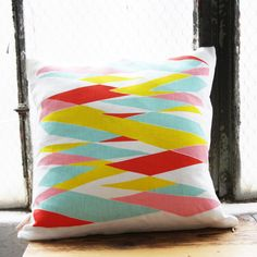 SALE Highway 16 x 16 Throw Pillow Cover