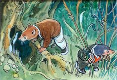 The Wind in the Willows 33 (Original) art by Philip Mendoza Archive