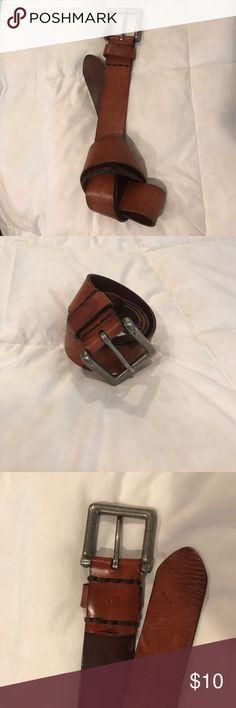 Men's belt Men's Abercrombie & Fitch belt. 100% genuine leather. Light brown. Abercrombie & Fitch Accessories Belts