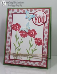 I was asked by Jennie M to join in the Creative Blog Hop and this is the card that I created for it!  You can see more information and free instructions for making it on my blog here:  http://stampwithamyk.com/2015/01/05/stampin-up-painted-petals-thank-you-for-the-creative-blog-hop/  Thanks so much for nominating me Jennie!!