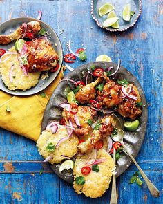 Dan Doherty's grilled chicken recipe was inspired by a traditional meal he ate during his cycling trip to Myanmar, to raise funds for Action Against Hunger.