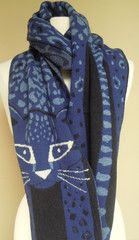 Nassau scarf - blue – French Needlework Kits, Cross Stitch, Embroidery, Sophie Digard – The French Needle