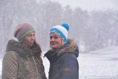 Schnee und Bibsi Mütze auf und raus 😊