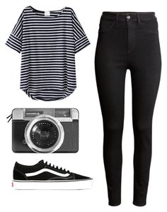 """""""Untitled #150"""" by marianaledesma on Polyvore featuring H&M, Casetify and Vans"""