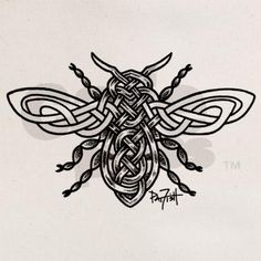Celtic Knotwork Bee
