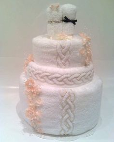 Wedding Towel Cake gift idea