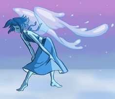 Lapis Lazuli ||| Steven Universe Fan Art by smokeykinz on Tumblr
