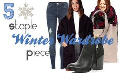"""We've come to the end of Winter Wardrobe series. Recently I was asked """"What are you 5 winter must haves? End Of Winter, Winter Must Haves, Winter Wardrobe, Website, Lady, Fashion, Capsule Wardrobe Winter, Moda, Fashion Styles"""