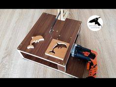 Как сделать электролобзик для DIY поделок? - YouTube Woodworking Tools For Sale, Youtube Woodworking, Woodworking Techniques, Woodworking Wood, Woodworking Projects, New Year's Crafts, Wood Crafts, Diy And Crafts, Wood Tools