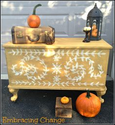 Harvest Chest 1 - Embracing Change in Mustard Seed Yellow