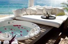 Cabo Azul Resort and Spa San Jose del Cabo, Mexico. Villa that sleeps with Jacuzzi Tub. From tax included. Great deal for groups of friends! San Jose Del Cabo, Bungalows, Outdoor Spaces, Outdoor Living, Outdoor Decor, Beautiful Homes, Beautiful Places, Romantic Places, Romantic Escapes
