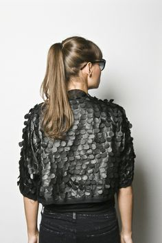 elegantes schwarzes Jäckchen  von bloe design auf DaWanda.com
