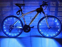 Wheelight® 20 Super-Bright LED Bicycle Lights for Spokes and Frames in Five Colors (Blue) Wheelight http://www.amazon.com/dp/B00SBZ7KD6/ref=cm_sw_r_pi_dp_AZTRvb08557ZC
