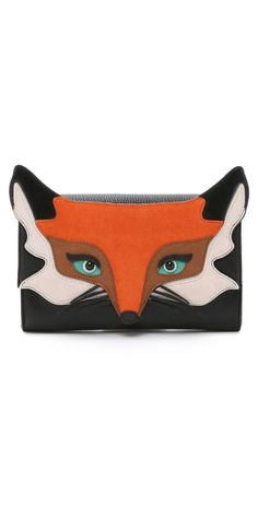 Kate Spade New York Fox Clutch | SHOPBOP