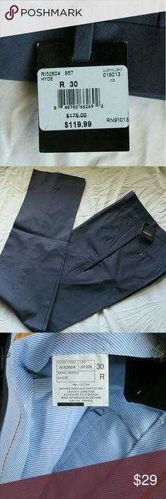 Black Saks Fifth Avenu dark grey dress pants New with tag Black Saks Fifth Avenu dark grey dress pants size 30. 100% cotton. Black Saks Fifth Avenu Pants Dress