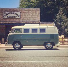 VW Camper #vintage #volkswagens