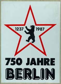 750 JAHRE BERLIN by m.joedicke, via Flickr - Berlin Germany