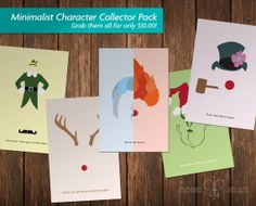 Classic Christmas Character Collector Pack