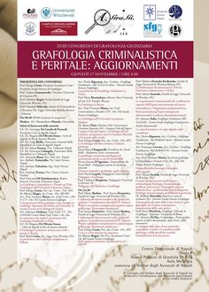 giovedi-17-novembre-2016 XVIII Congresso di Grafologia Giudiziaria