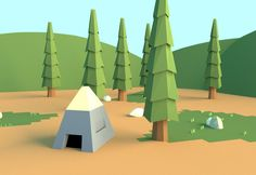 Camp Site by smartape