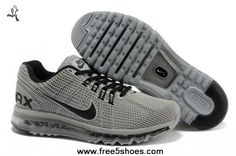 d0a5294ea6f160 New Nike Air Max 2013 KPU Mens Shoes Grey Black Nike Air Max Mens