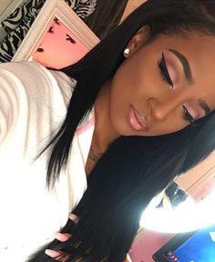 Pinks on brown skin!!!!                                                       …