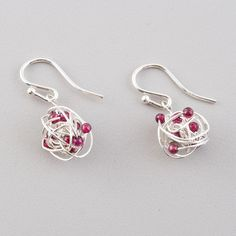 lovely wire earrings