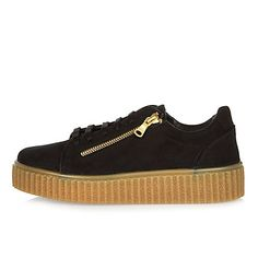 Black zip creepers 549 kr
