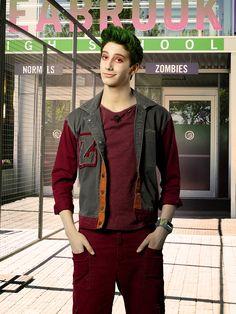 """Disney Channel's """"Zombies"""" stars Milo Manhiem as Zed. (Disney Channel/Bob D'Amico)"""