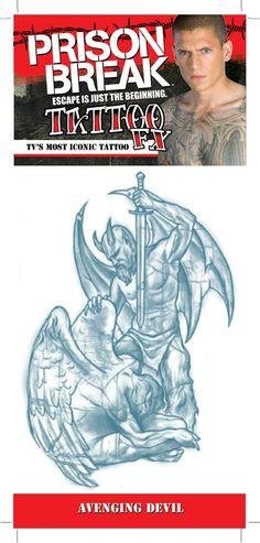 PRISON BREAK AVENGING DEVIL